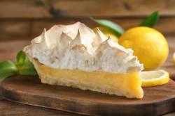 Tarte de limão merengada simples