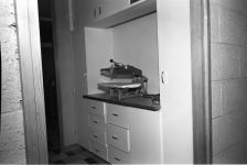 RDS model home, iron, 7 May 1960