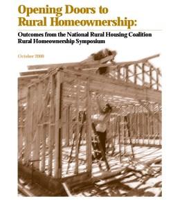 Opening Doors to Rural Homeownership (2000)