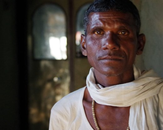 Vishwanath Khule, a marginal farmer, lost his entire crop during the drought year. His son, Vishla Khule, consumed a bottle of weedicide that Vishwanath had bought