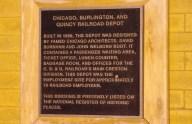 Creston Depot National Register Plague