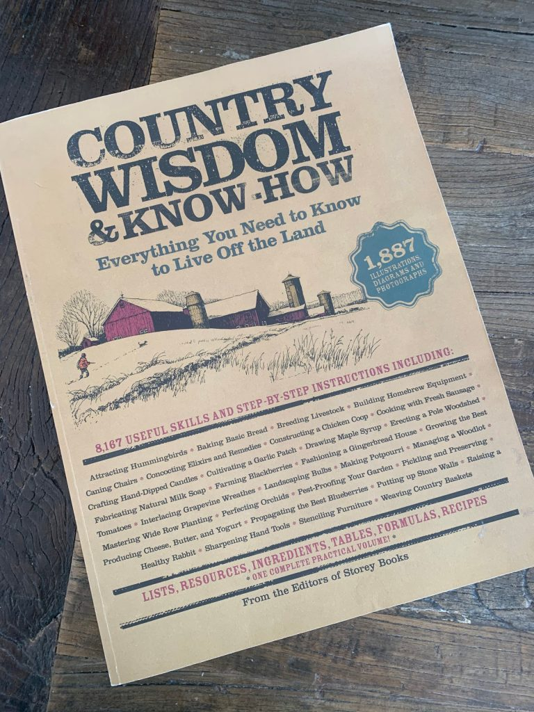 Book – Country Wisdom and Know-How