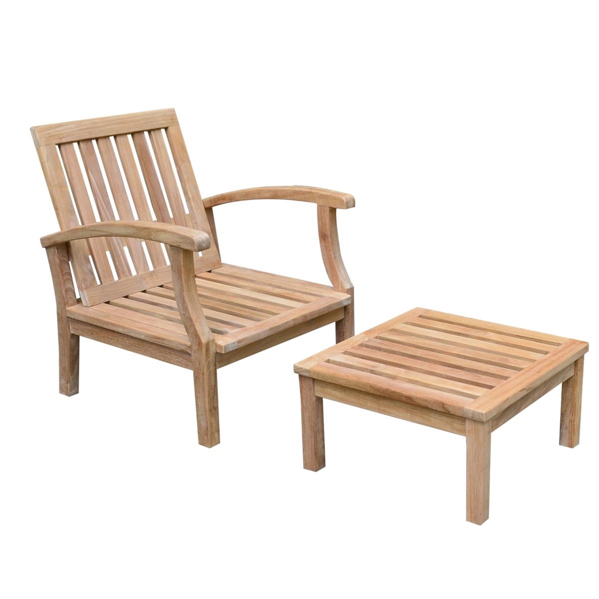 Titan Outdoors – Teak Sevilla Lounge Chair