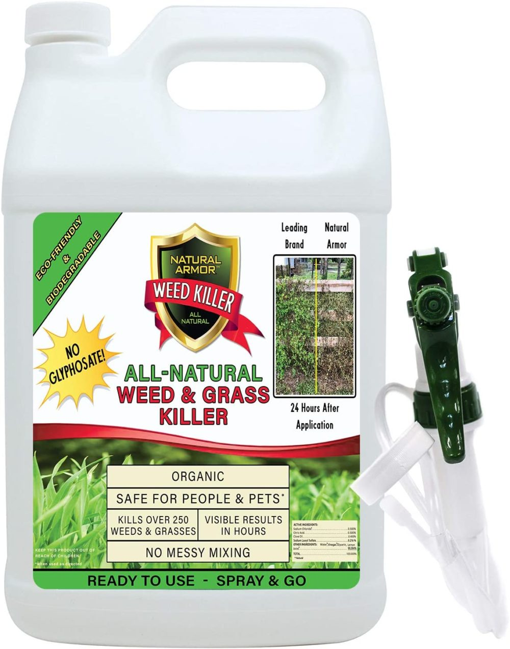 Natural Armor – All-Natural Weed Killer