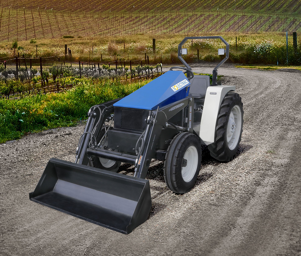 Solectrac – 40 hp eUtility Electric Tractor