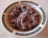 Breakfast - blueberry quinoa.