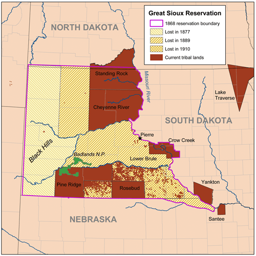 Siouxreservationmap