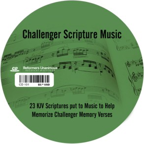 Challenger Scripture Music CD