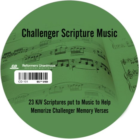 Challenger Scripture Music CD
