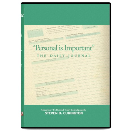 """""""Personal"""" Is Important - The Daily Journal (DVD)"""