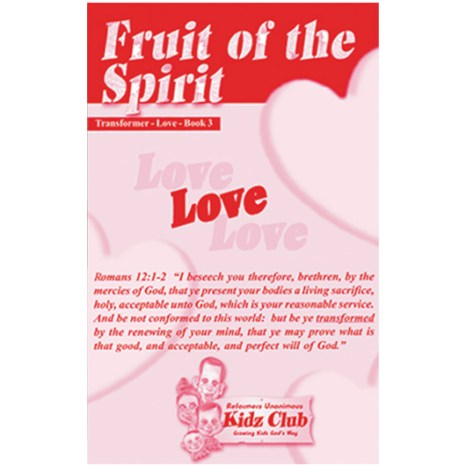 Kidz Booklet: Love