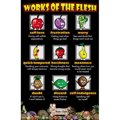 Kidz Club Works of the Flesh Poster