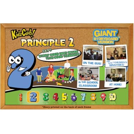 Kidz Club Principle 2 Story Board