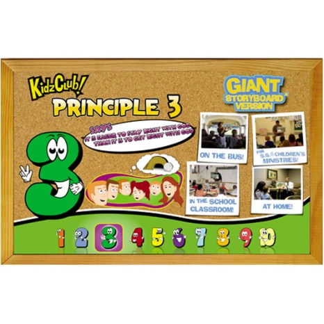 Kidz Club Principle 3 Story Board