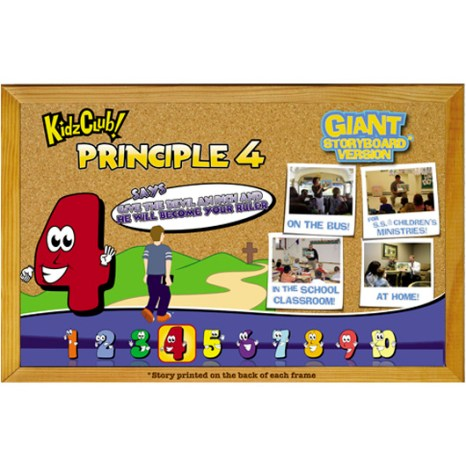 Kidz Club Principle 4 Story Board