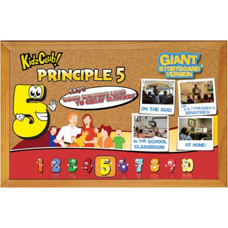Kidz Club Principle 5 Story Board