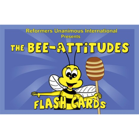 Kidz Club Bee-Attitudes Flash Cards
