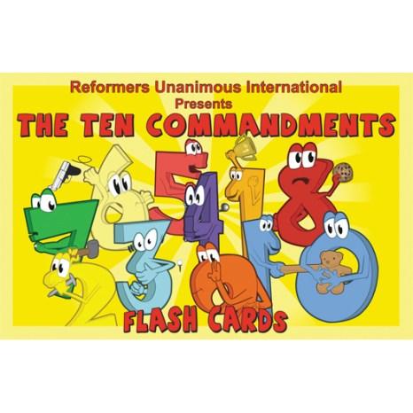 Kidz Club 10 Commandments Flash Cards