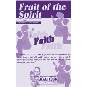 Kidz Booklet: Faith