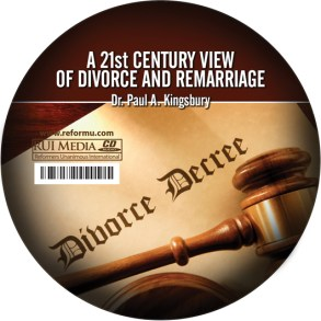 21st Century View of Divorce and Remarriage