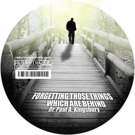 Forgetting Those Things Which are Behind (Audio CD)