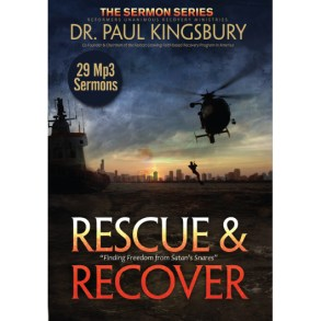 Rescue and Recover (MP3 CD Set)