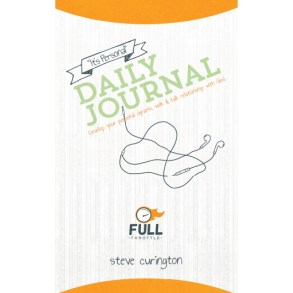"Full Throttle ""It's Personal"" Daily Journal"