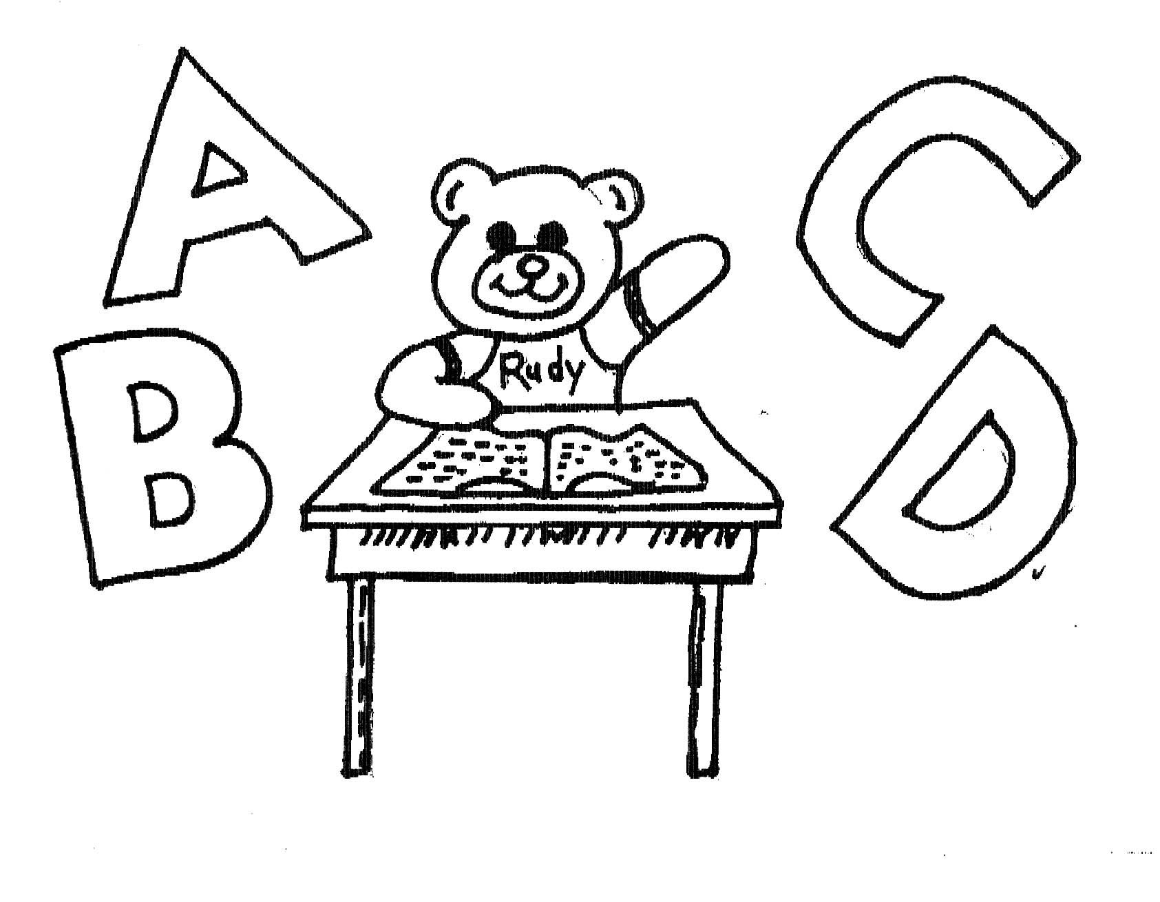 Rudy and his ABCs (jpeg picture)
