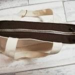 市販のバッグファスナーを付ける方法