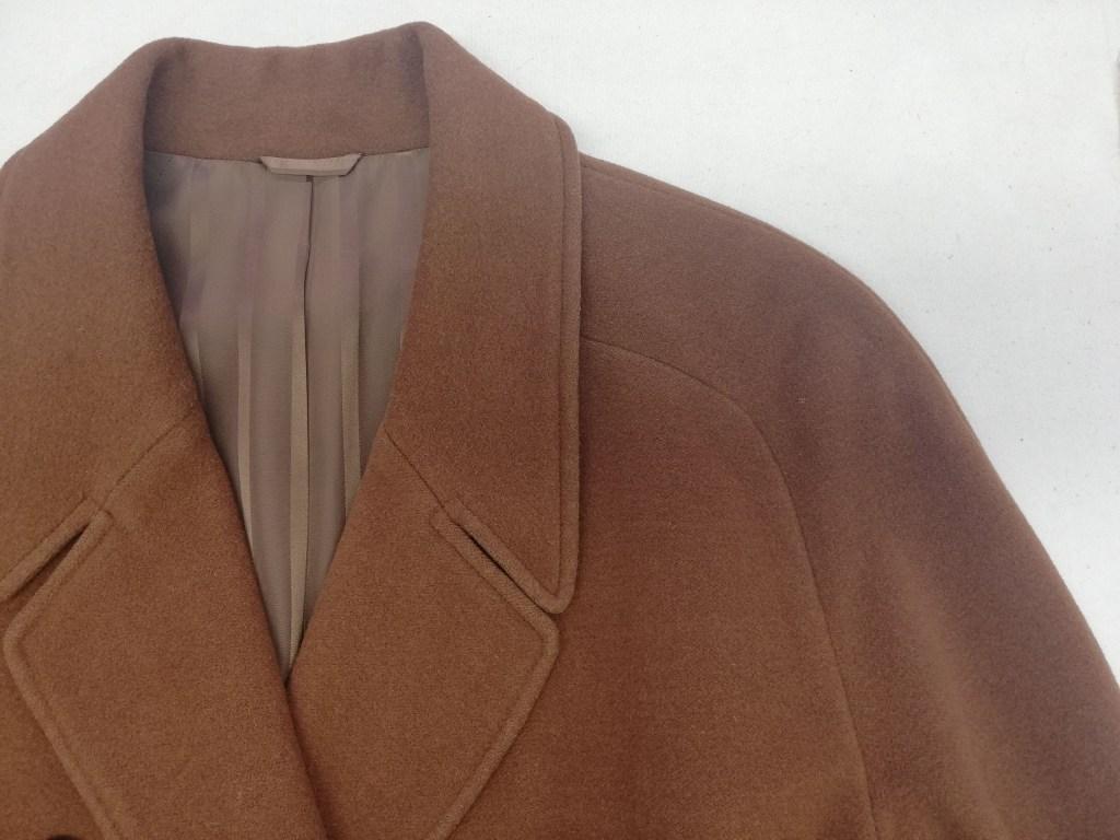ラグラン袖コート