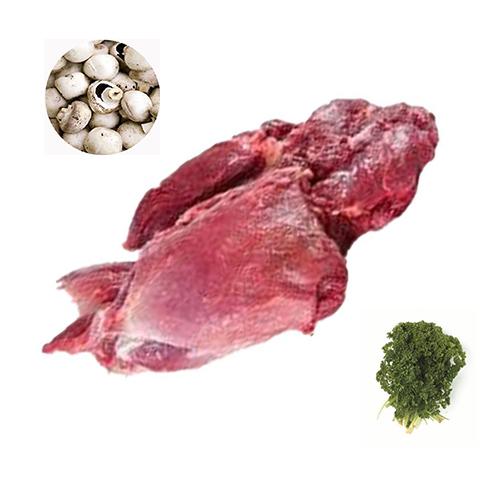 Vildsvine kød