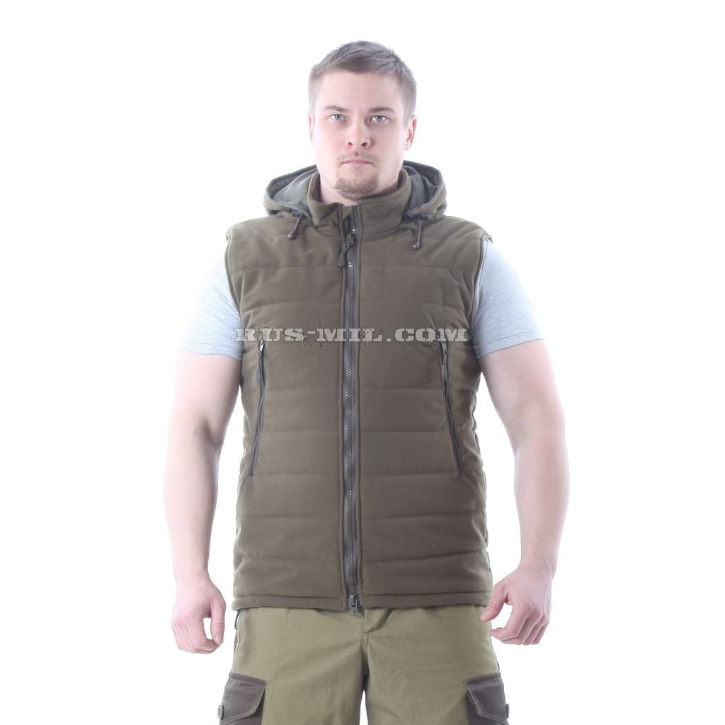 "Buy Membrane Vest Malamut in ""Olive Green"""
