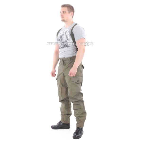 Gorka-5 suit in Olive with fleece removable lining bars set