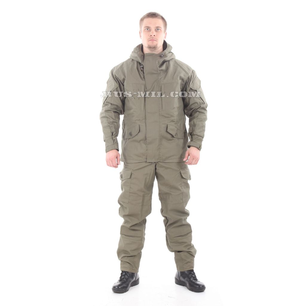 Gorka-5 suit in Olive with fleece removable lining for sale