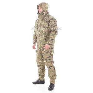 Gorka-5 suit in multicam with fleece removable lining