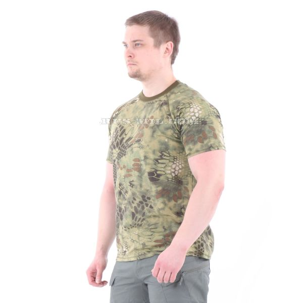 Russian Cotton T-Shirt in Mandrake for sale