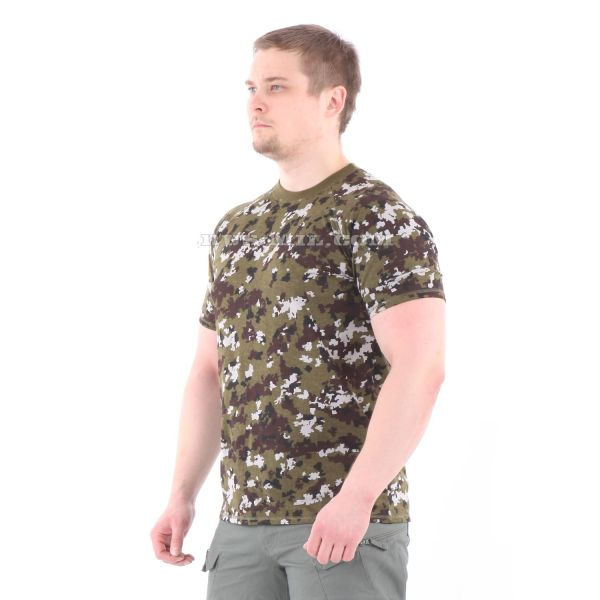 Russian Cotton T-Shirt in Tsifra-2 for sale