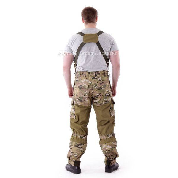 Russian Gorka-3 Khaki colour with pads in Multicam
