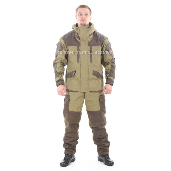 buy Gorka-5 suit in khaki with fleece removable lining