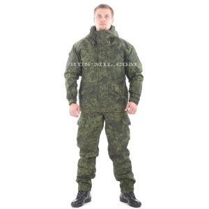 buy Gorka-5 suit in tsifra 'digit' with fleece removable lining