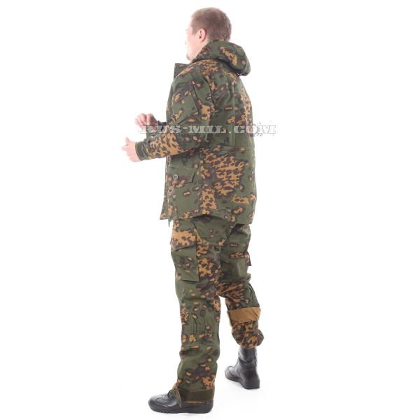 Gorka-5 suit in partizan with fleece removable lining on sale