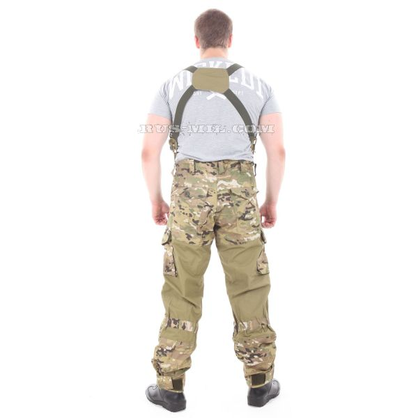 Original Gorka-5 suit khaki with fleece removable lining, multicam