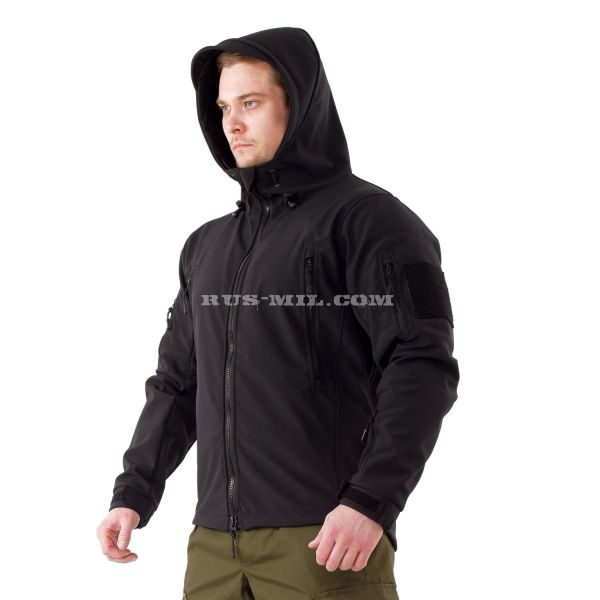 buy Jacket from the membrane Softshell color Black