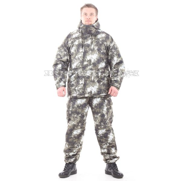 Membrane lightweight Gorka-winter suit in MU-Blur