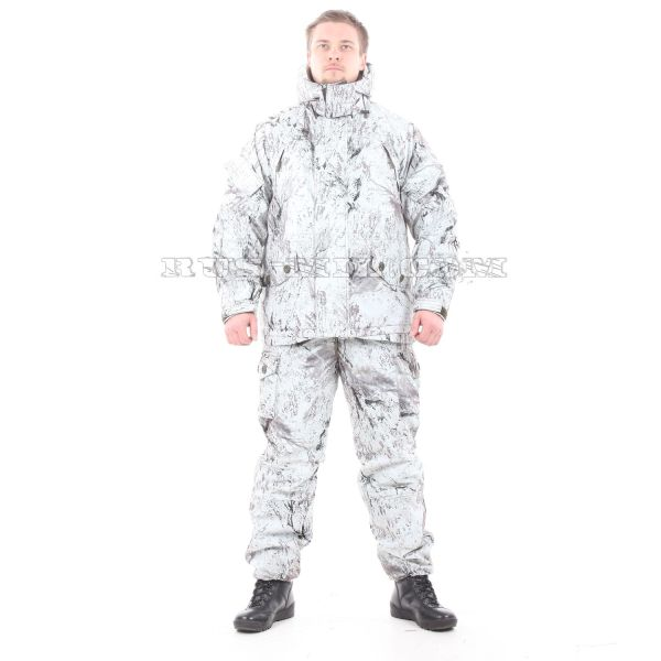 Membrane lightweight Gorka-winter suit in snowstorm