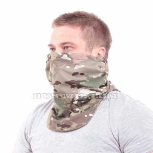 Warm scarf Multicam