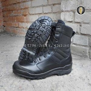 Boots Garsing G.R.O.M. with a zipper m. 0139 black