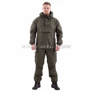 Gorka-4 anorak suit in Olive dark pattern