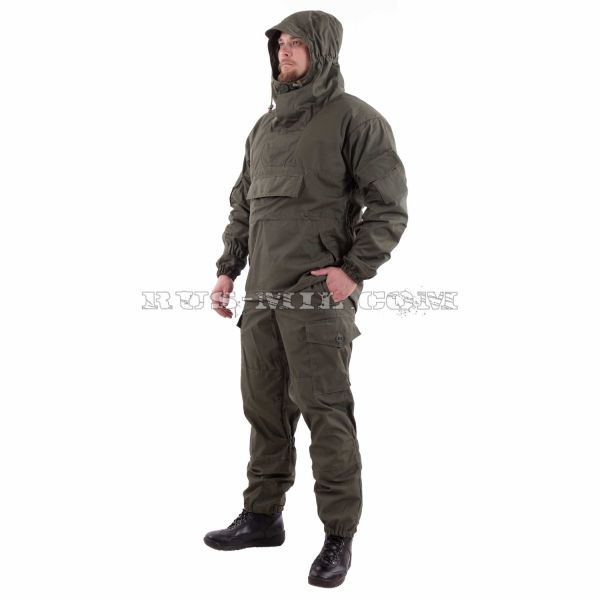 Russian Gorka-4 anorak suit in Olive dark pattern