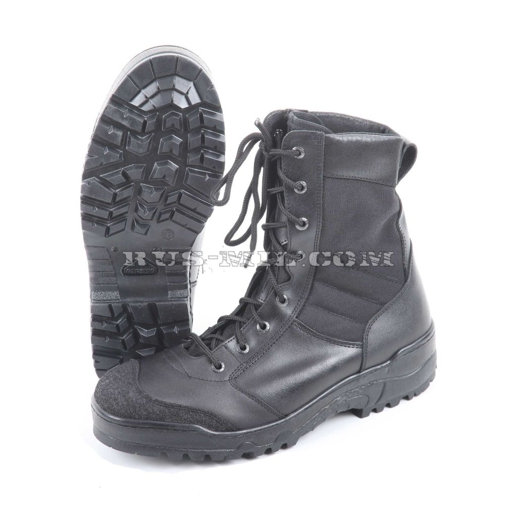 Russian army Boots Garsing G.R.O.M. m. 339 black at low price